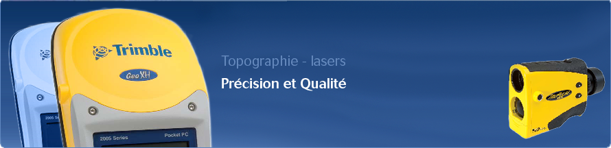 Topographie Lasers